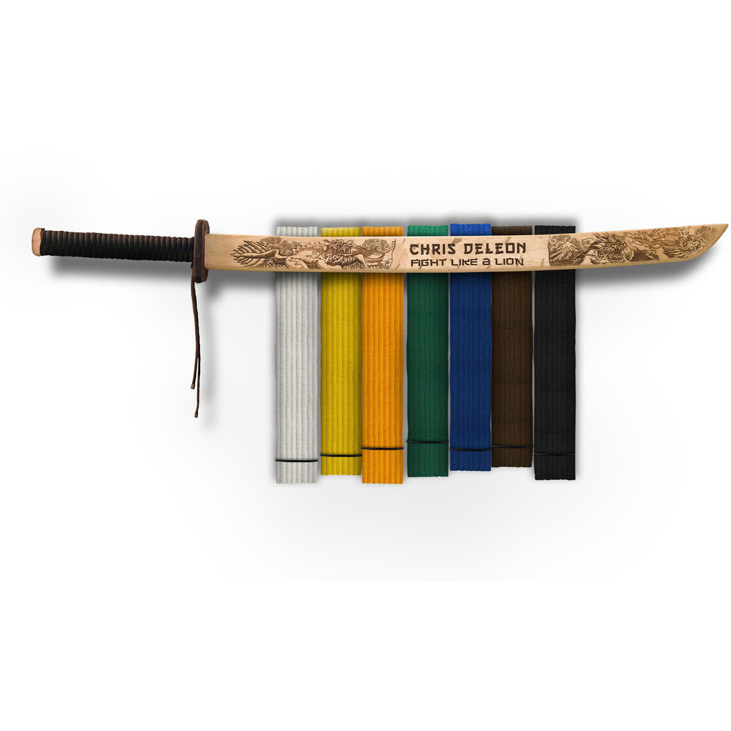 DOJO_MARTIAL_ARTS_BELT_DISPLAY_RACK