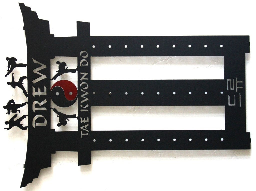 Karate Belt Display: Taekwondo Belt Rack: Martial Arts Belt Holder