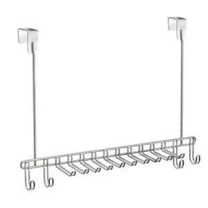 InterDesign Classico Over-the-Door Tie and Belt Rack