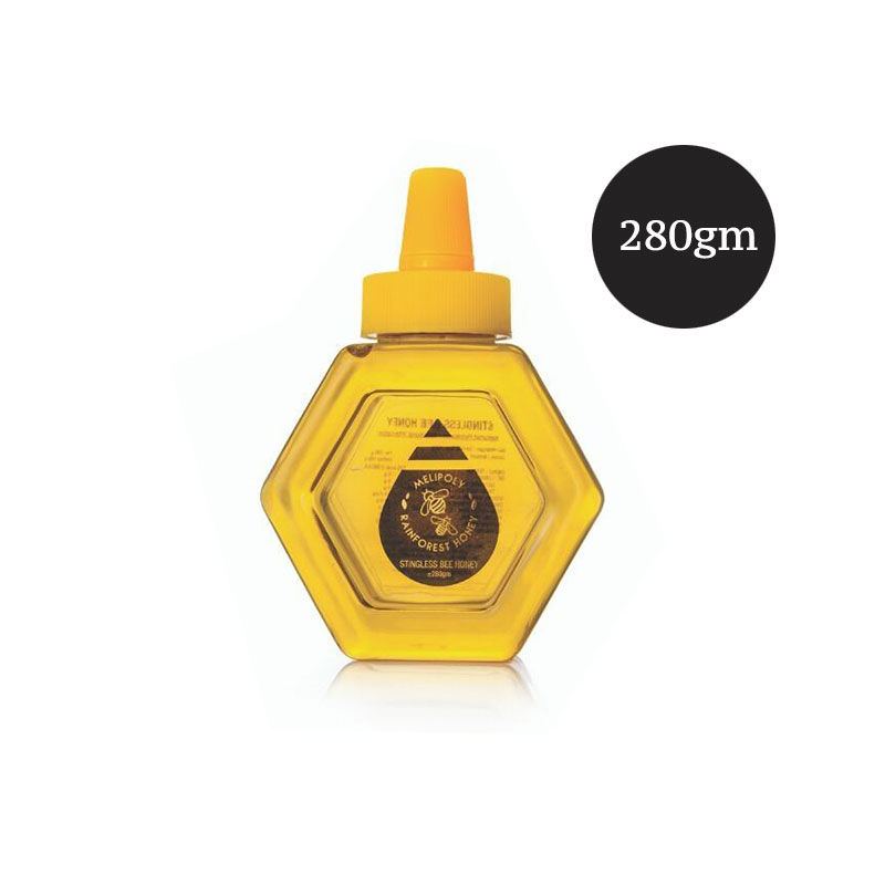 Melipoly Stingless Bee Honey 280gm / 380gm / 500gm / 550gm