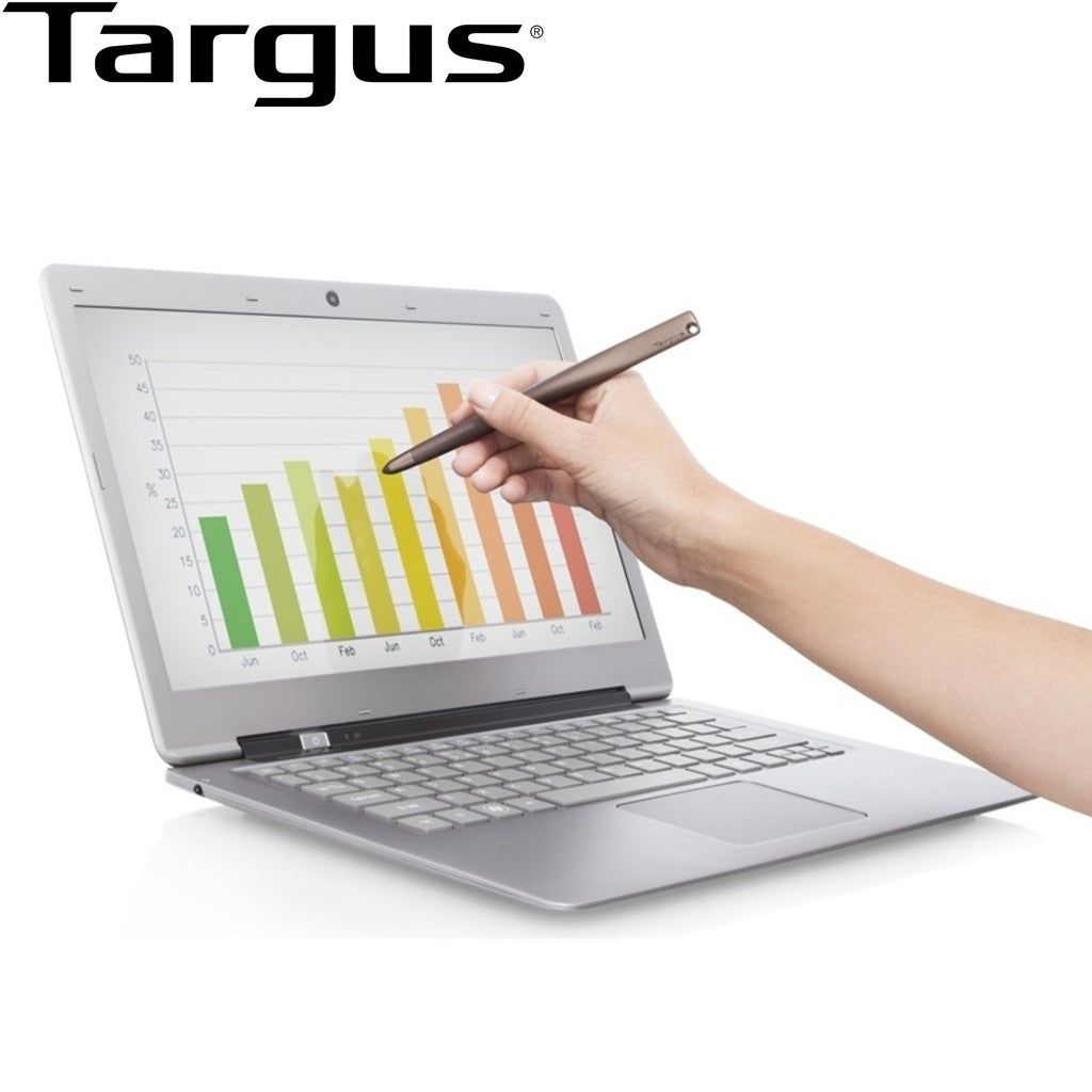 Targus Ultrabook™ Stylus with Magnetic Holder (Bronze) for iPad and Android Tab