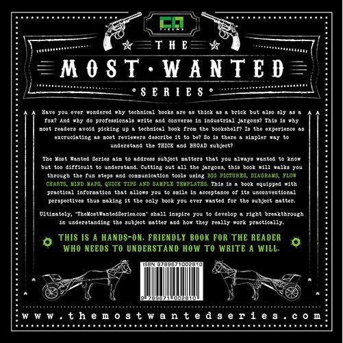 The Most Wanted Series: Write a Will by Chris Tan