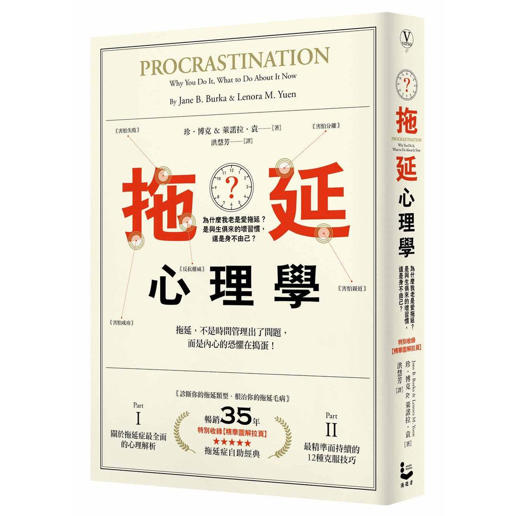 Procrastination Why You Do It, What to Do About It Now 拖延心理学