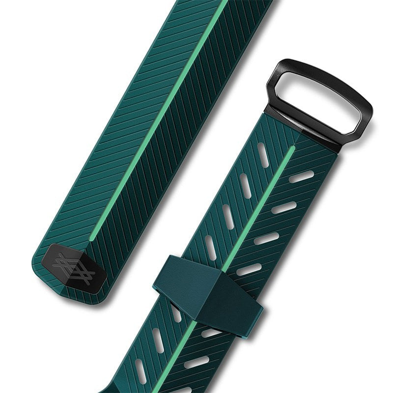 X-Doria 42mm & 44mm Action Band for Apple Watch (Green)