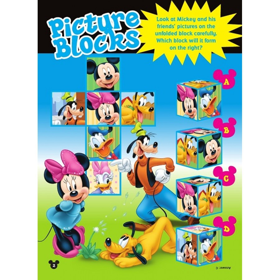 Disney Mickey & Friends Friendship Colouring & Activity Book 3