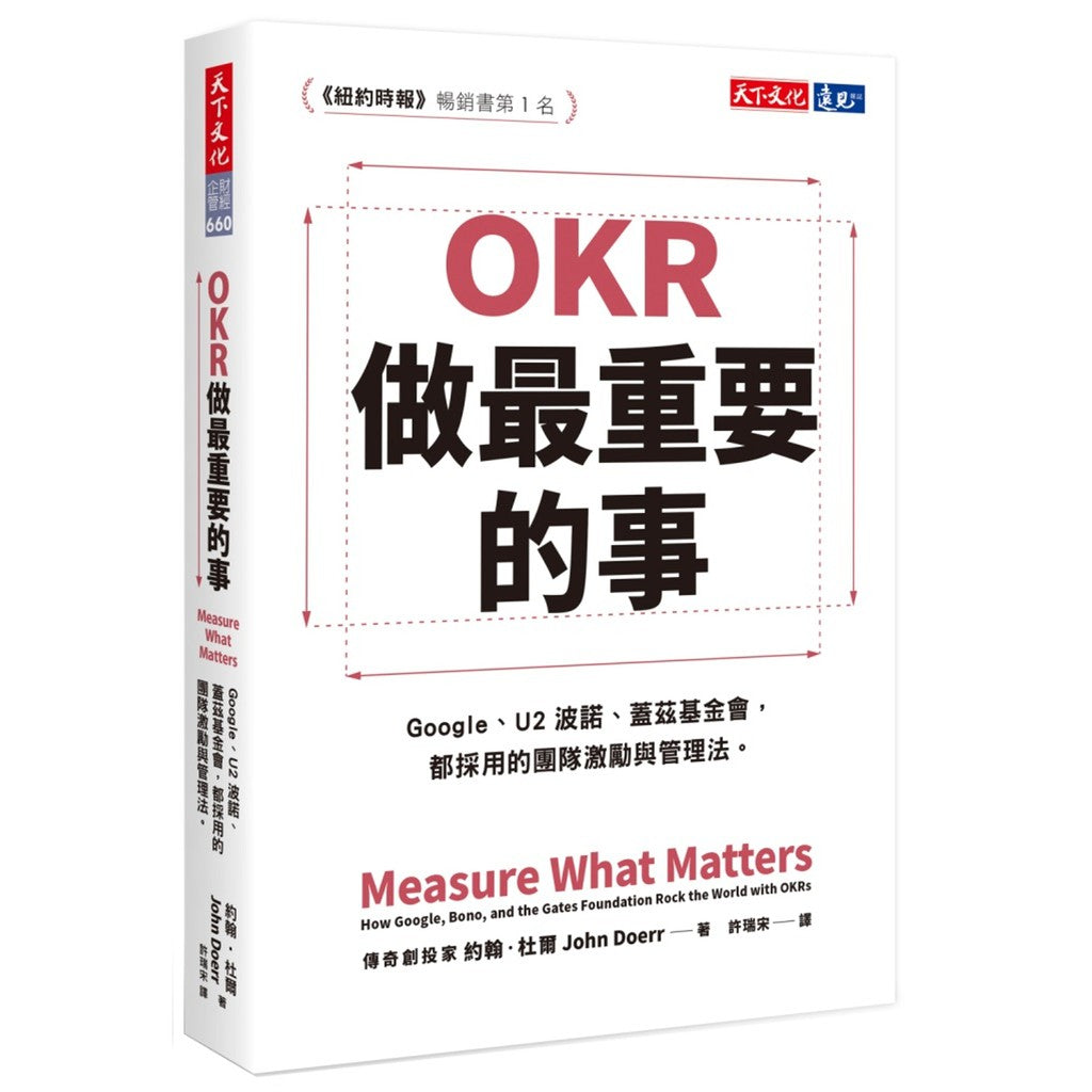 OKR (Objectives and Key Results):做最重要的事