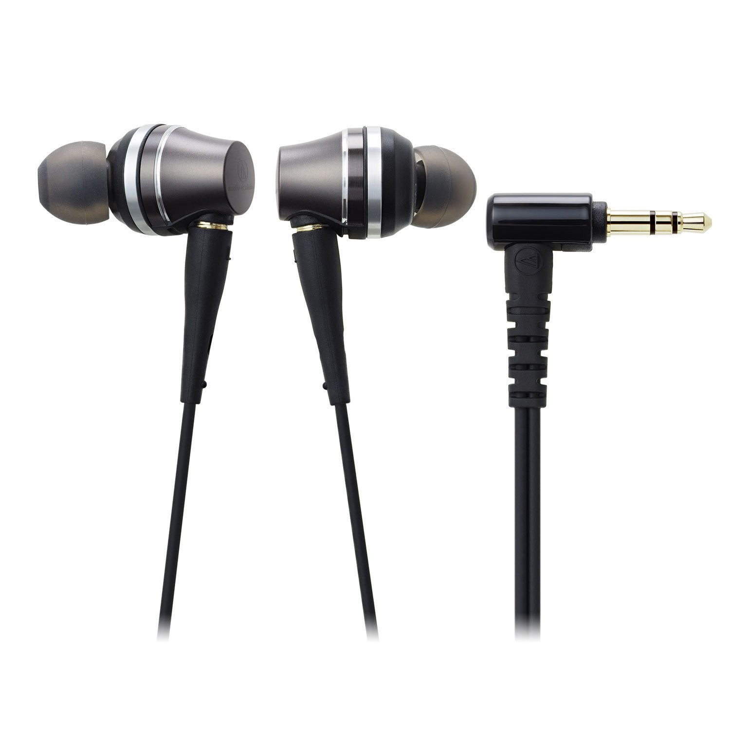 Audio-Technica ATH-CKRS90iS Sound Reality In-Ear High-Resolution Headphones with Mic & Control