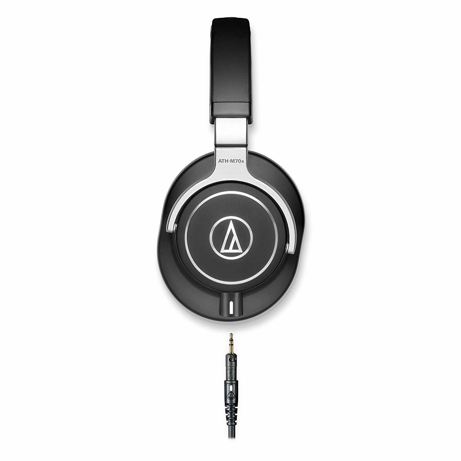 Audio-Technica ATH-M70x Closed-Back Dynamic Professional Studio Monitor Headphones