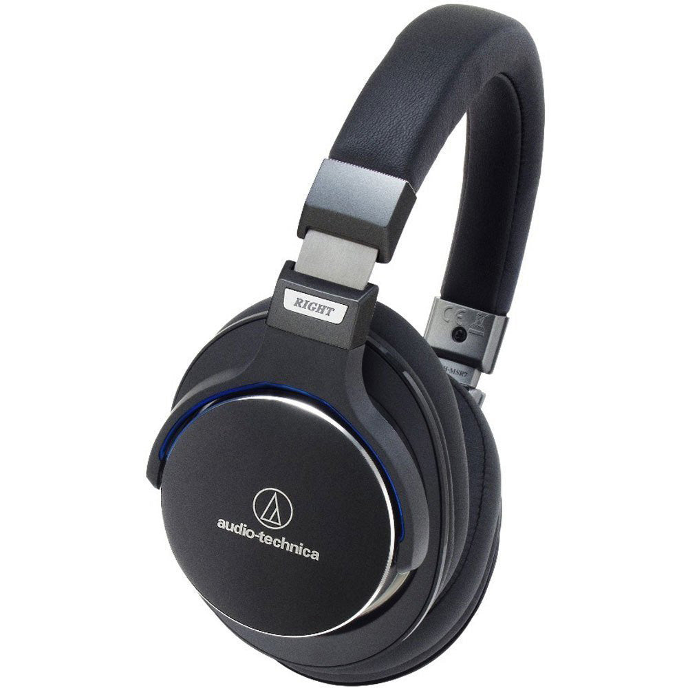 Audio-Technica ATH-MSR7 SonicPro Over-Ear High-Resolution Audio Headphones (Certified Refurbished)
