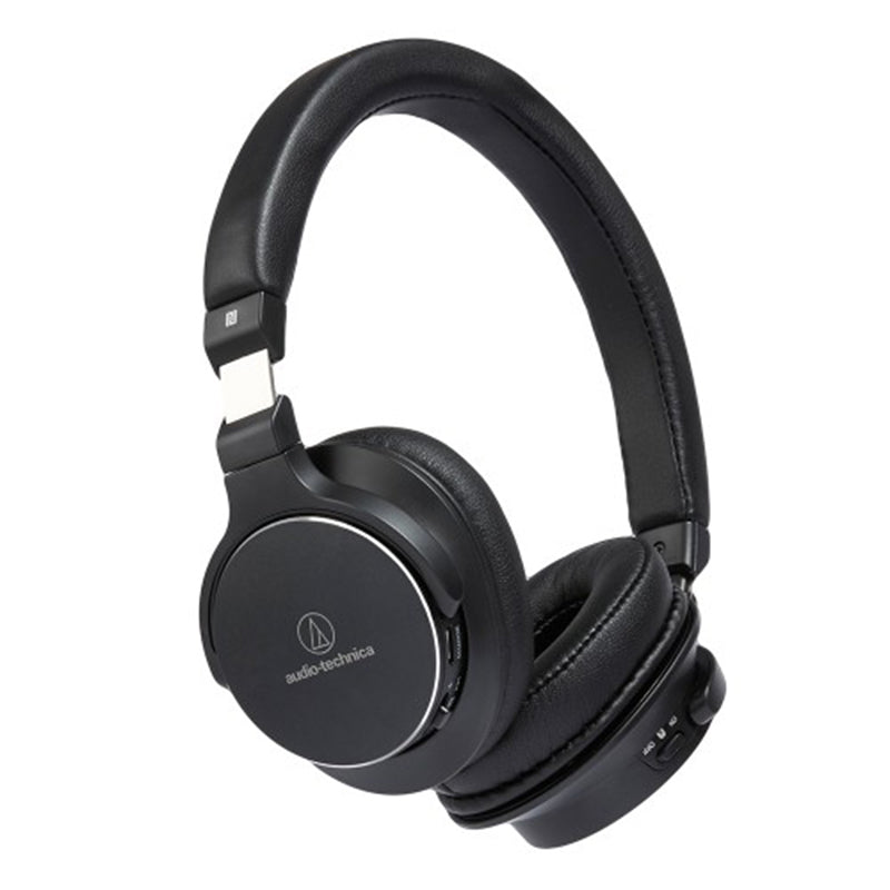 Audio-Technica ATH-SR5BT Bluetooth Wireless On-Ear High-Resolution Audio Headphones with Mic & Control