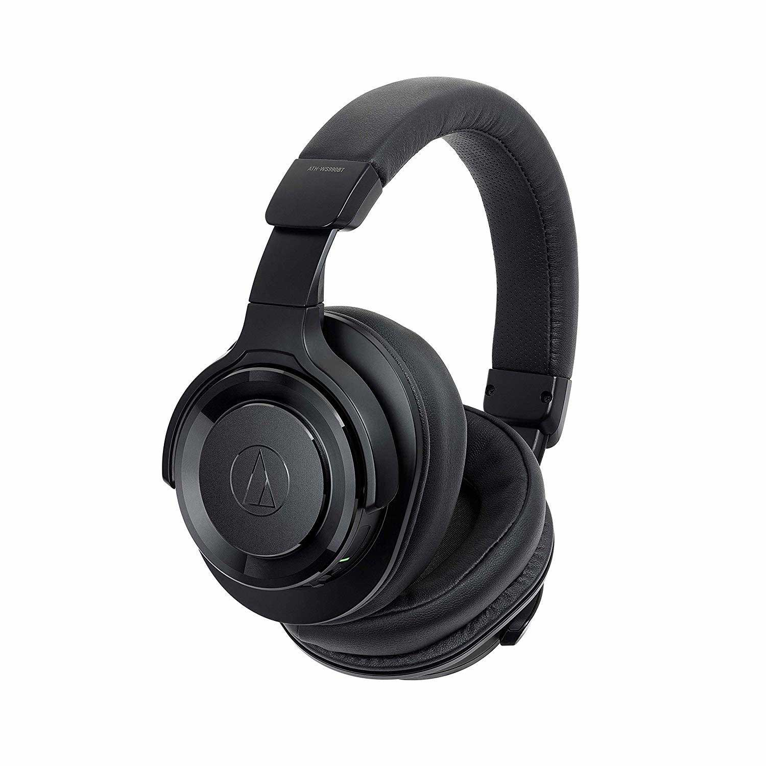 Audio-Technica ATH-WS990BT Solid Bass Bluetooth Wireless Over-Ear Headphones with Built-In Mic & Control