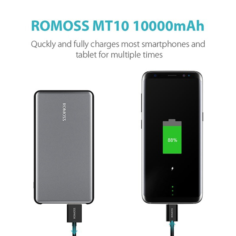 ROMOSS MT Pro 10000mAh Power Bank