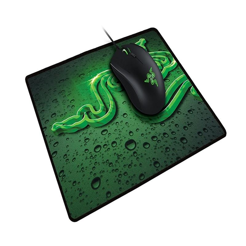 Razer Abyssus 2000 DPI Bundle Gaming Mouse with Goliathus Speed Terra Mouse Mat
