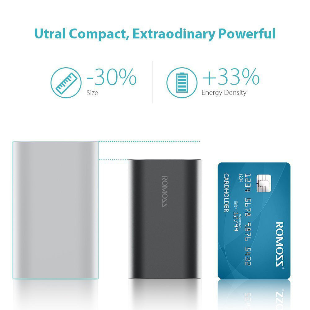 Romoss Ace 10000mAH Power Bank