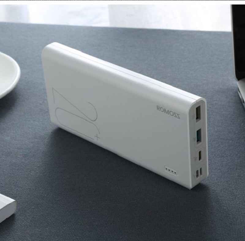 Romoss Sense 6+ Type-C QC3.0 20000mAh Powerbank