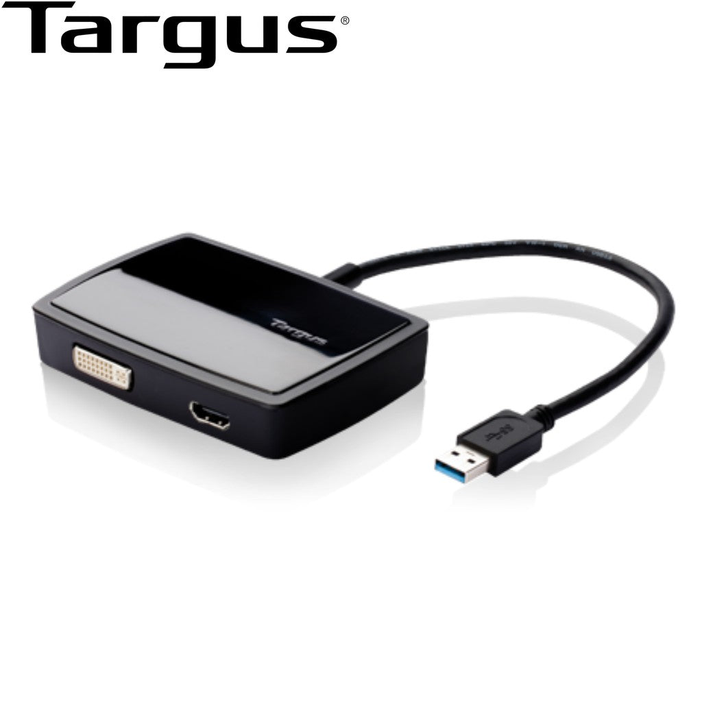 Targus USB 3.0 SuperSpeed™ DVI-I and HDMI Dual Video Adapter
