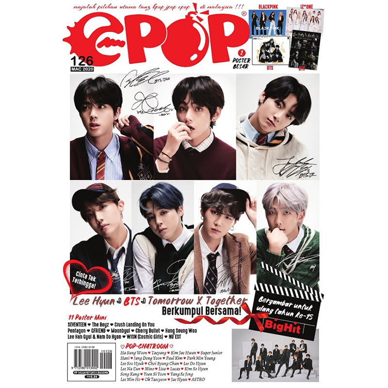 Epop Malay 126 2020-03 - Lee Hyun x BTS x Tomorrow X Together Berkumpul Bersama