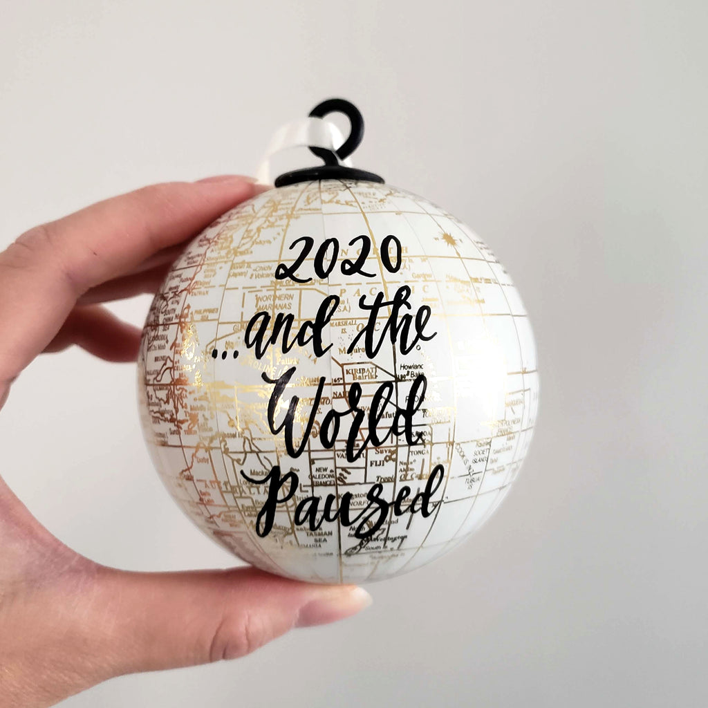 2020 World Pandemic Ornament with a Cause
