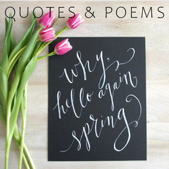 Quotes & Poems Gallery