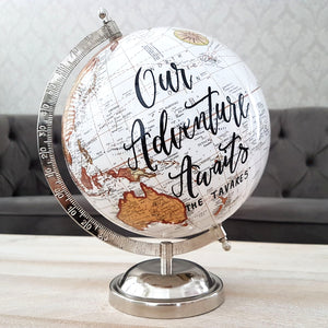 Wedding Globe Guest Book