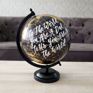 Father's Day Globe Gift