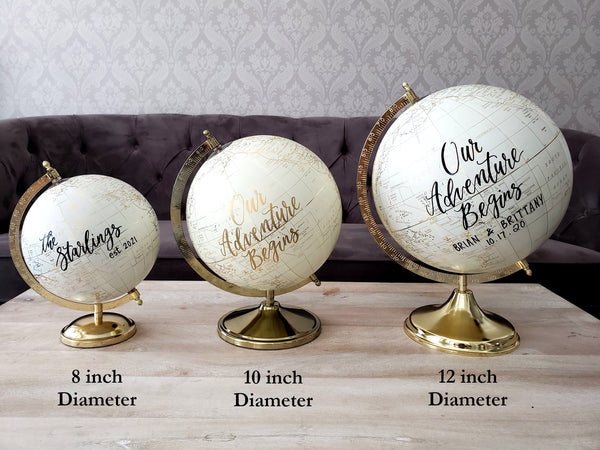 Guestbook Globes
