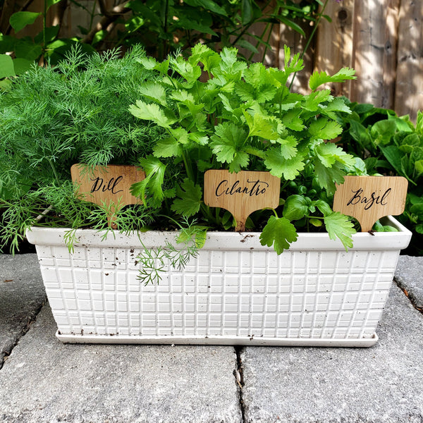 Custom Herb Markers