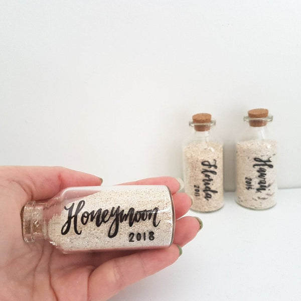 honeymoon memory jars