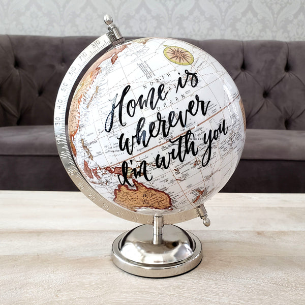 Home is Wherever I'm with you Globe