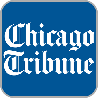 Chicago Tribune article featuring the Huggaroo Original microwavable heating pad