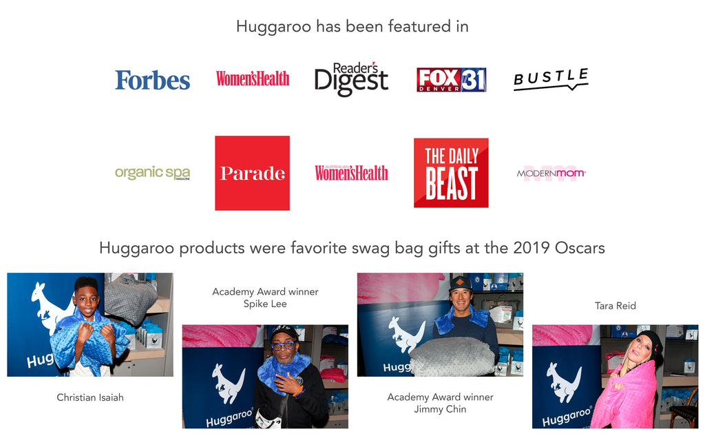 huggaroo features and oscars pics