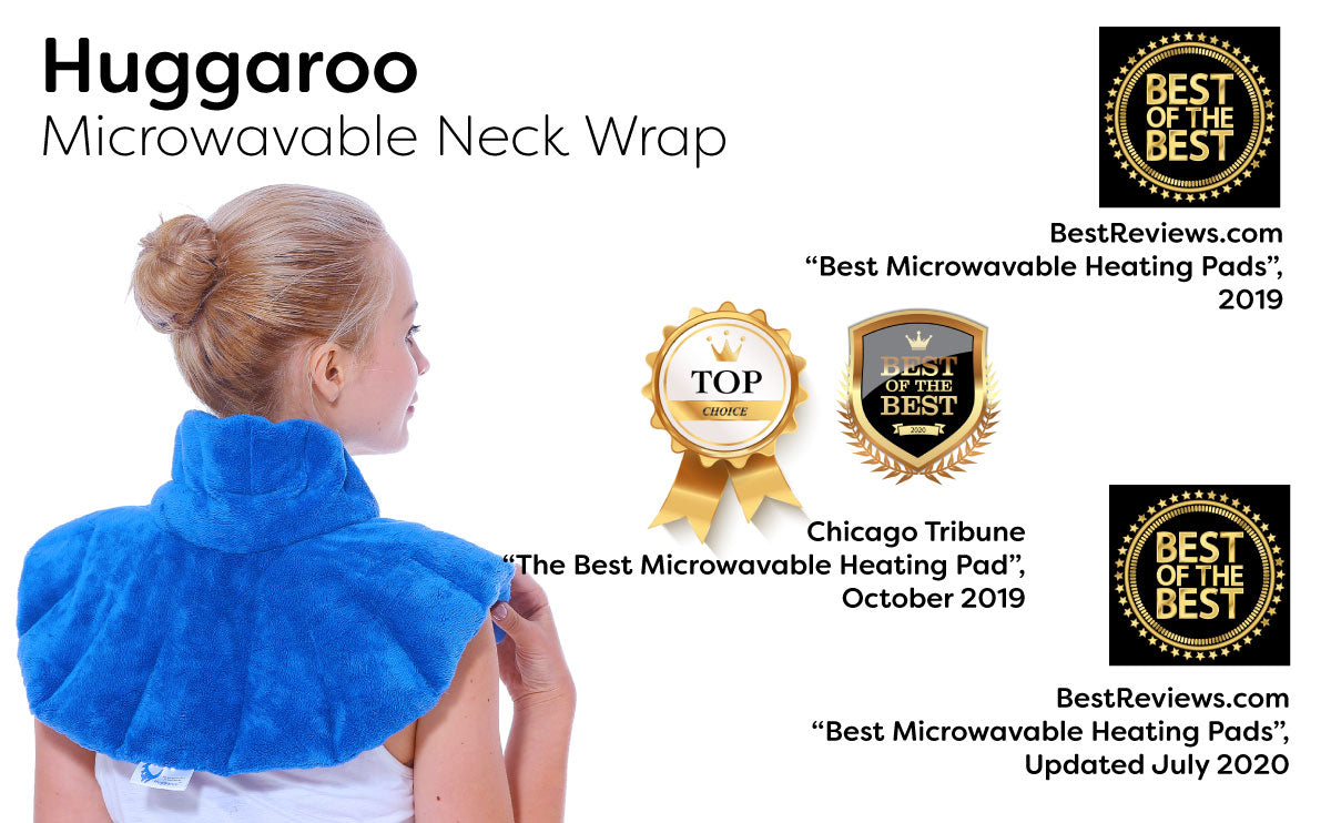 huggaroo neck wrap microwavable heating pad accolades