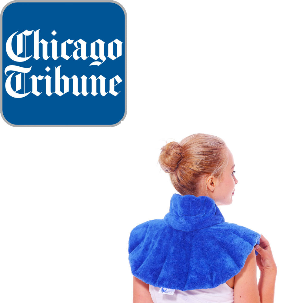 Huggaroo Original microwavable heating pad named Best of the Best by the Chicago Tribune