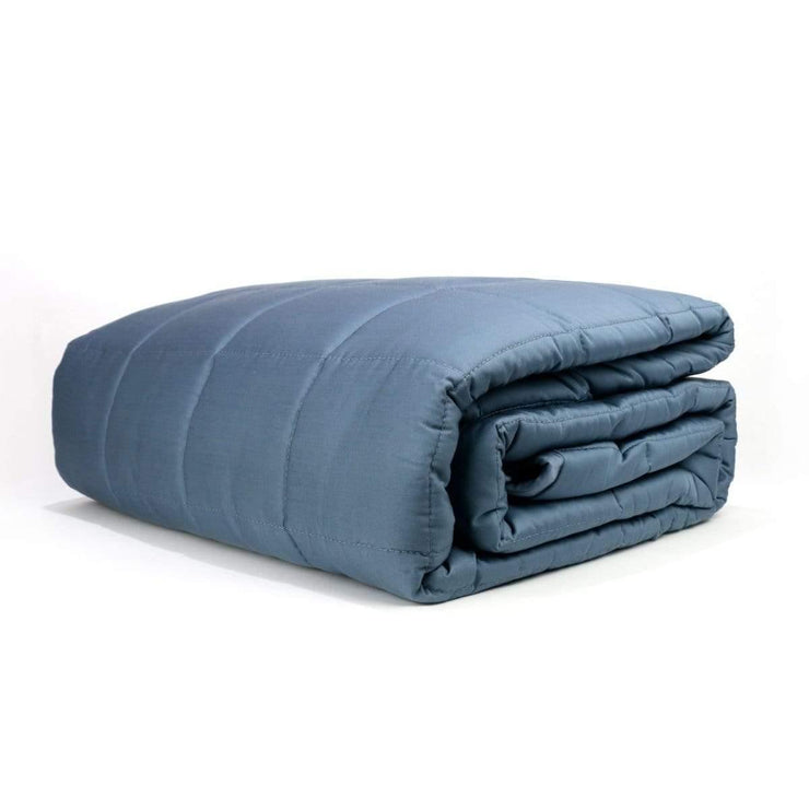 Huggaroo Cooling Weighted Blanket - 15 lb, Gray HWB15BSG