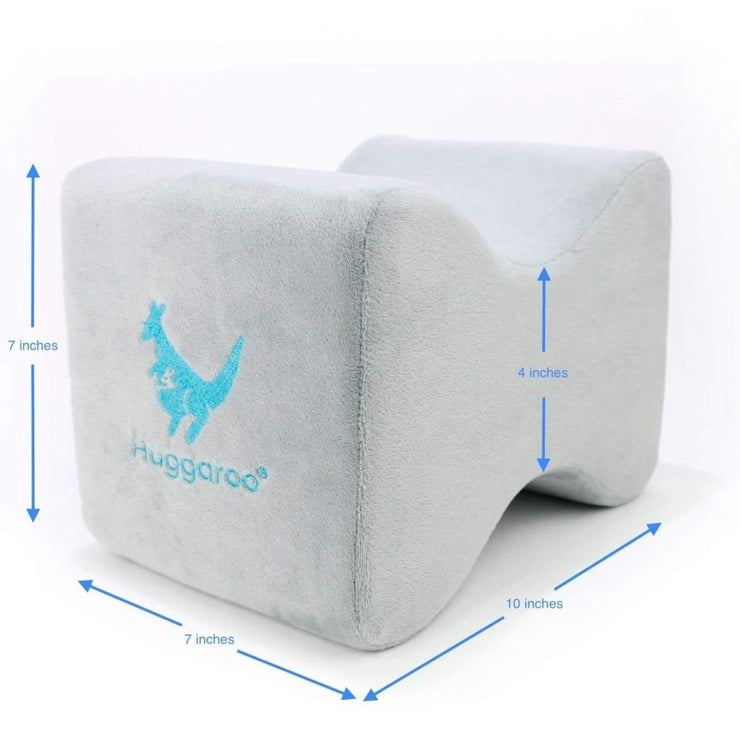 Huggaroo Pillow for Knees - Grey HKP1G