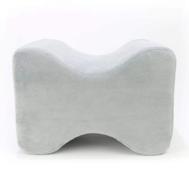 Huggaroo Knee Pillow for Side Sleepers - Premium Memory Foam, Grey HKP1G 855448007254