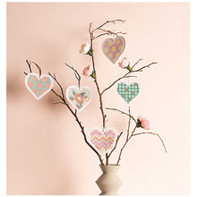 Load image into Gallery viewer, Embroidery Cards - Hearts