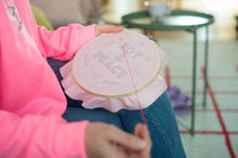Load image into Gallery viewer, Peace & Joy Embroidery Hoop Kit