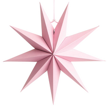 Load image into Gallery viewer, Paper Star Decoration - Red, Pink or White