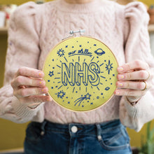 Load image into Gallery viewer, Our Stellar NHS Embroidery Hoop Kit