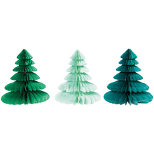 Load image into Gallery viewer, Paper Honeycomb Christmas Trees