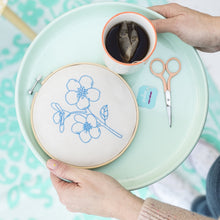 Load image into Gallery viewer, Forget Me Not Embroidery Kit