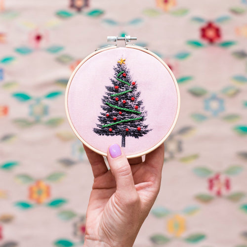 Christmas Tree Hoop Kit - Pre-Order