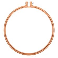 Load image into Gallery viewer, Mustard Embroidery Hoop 22cm