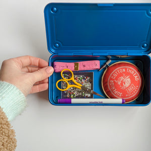 Small Metal Component/Sewing Box