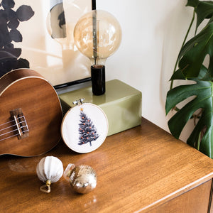 Christmas Tree Hoop Kit