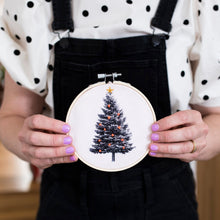 Load image into Gallery viewer, Christmas Tree Hoop Kit