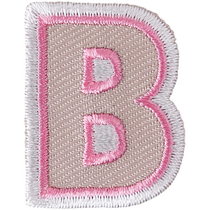 Iron on Alphabet Patches