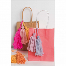 Load image into Gallery viewer, Wool Tassels - Neon