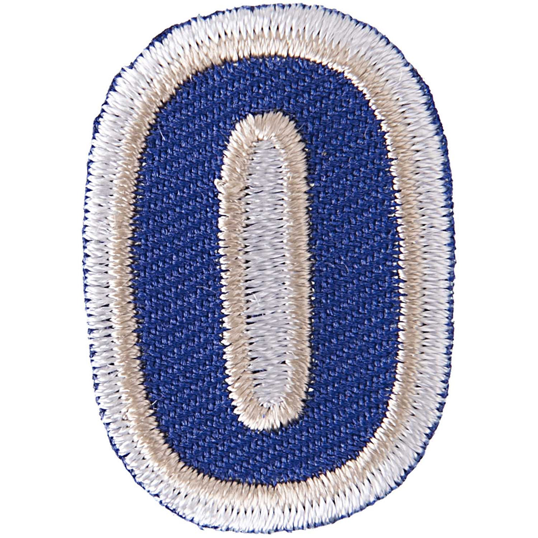 Iron on Number Patches
